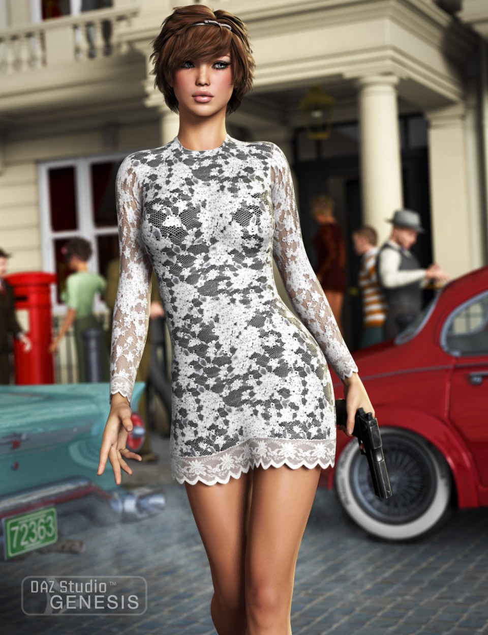 beautiful 3d poser girl collection
